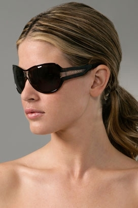 Yves Saint Laurent Trimmed Sunlgasses