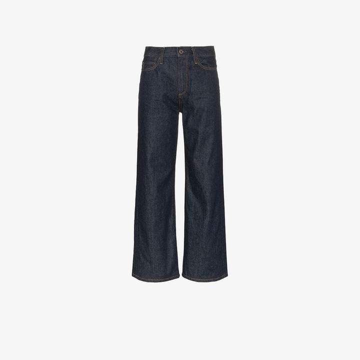 quinby flared jeans