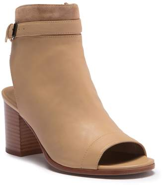 Vince Jane Leather & Suede Buckle Sandal