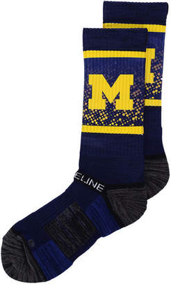 Strideline Michigan Wolverines Crew Socks Ii