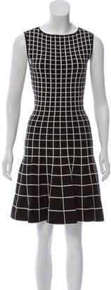 Ohne Titel Sleeveless Pattern Knee-Length Dress