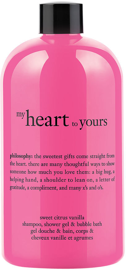 philosophy my heart to yours shower gel 16 oz (473.2 ml)