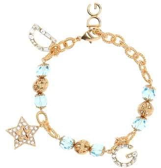 Dolce & Gabbana Crystal charm bracelet