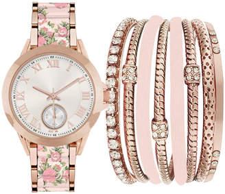 Rosegold FASHION WATCHES Fashion Watches Womens and Blush Watch Boxed Set