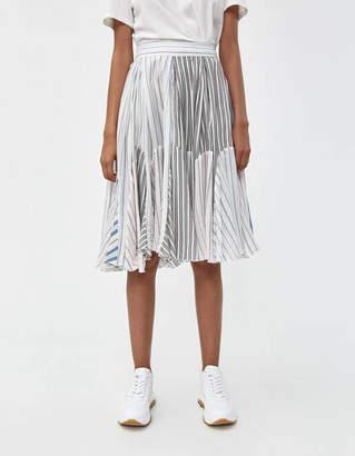 J.W.Anderson Pyjama Stripe Skater Skirt