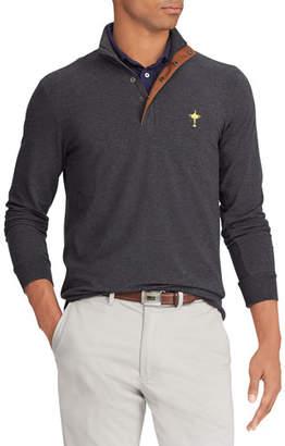 Ralph Lauren Men's Wednesday Ryder Cup Pullover Water-Repellent Golf Shirt