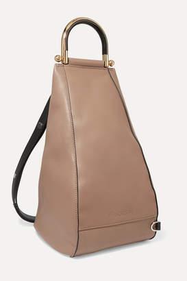 J.W.Anderson Wedge Leather Shoulder Bag