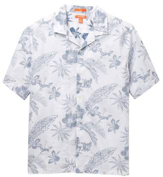 Joe Fresh Reverse Print Camp Shirt (Big Boys)