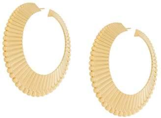 Aurelie Bidermann Pistol creoles earrings