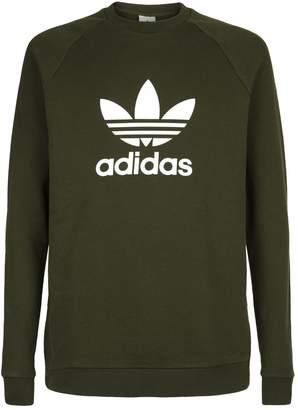adidas Trefoil Crew Neck Sweatshirt