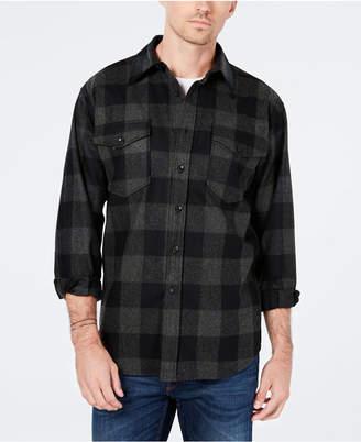 Pendleton Men Guide Buffalo Check Wool Shirt