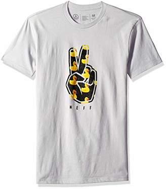 Neff Men's Peeace Short Sleeve Tee Shirt