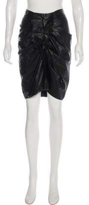 Etoile Isabel Marant Ruffled Knee-Length Skirt