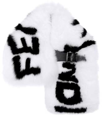 Fendi Fur scarf