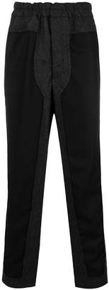 Comme des Garcons loose fitting trousers