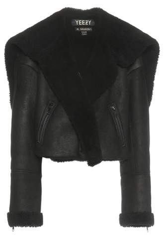 Yeezy Shearling and leather jacket (SEASON 1)