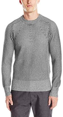 Blend of America CADET Clothing Men's Two-Tone Cashmere Sweater