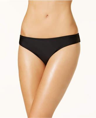 Jessica Simpson Shirred Cheeky Hipster Bikini Bottoms Women's Swimsuit