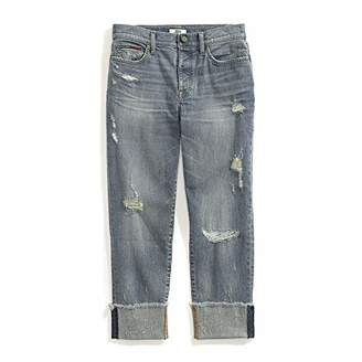 7ab8eb4f07d Tommy Hilfiger Women's Adaptive Boyfriend Jeans with Adjustable Waist and  Magnet Buttons