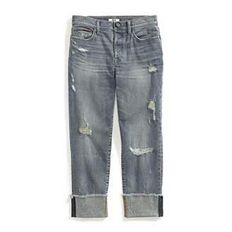 Tommy Hilfiger Adaptive Women's Boyfriend Jeans Adjustable Waist Magnet Buttons