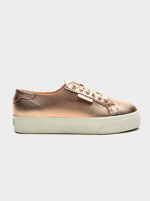 Superga New Womens Women S 2730 Nappa Mirror Shoes In Rose Gold Sneakers