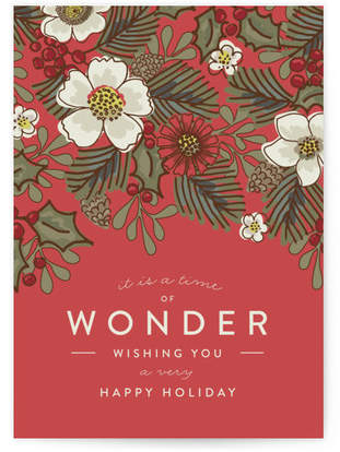 Holiday Wonderment Self-Launch Cards