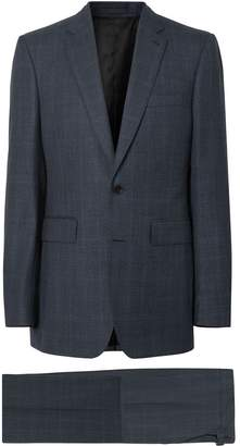 Burberry Classic Fit Windowpane Check Wool Suit