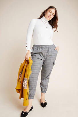 Sanctuary Sheffield Plaid Utility Joggers