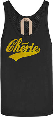 N°21 Chérie Printed Cotton Tank