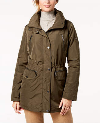 Michael Kors Hooded Waterproof Anorak