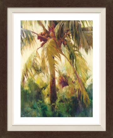 Wild Coconut II Framed Wall Art