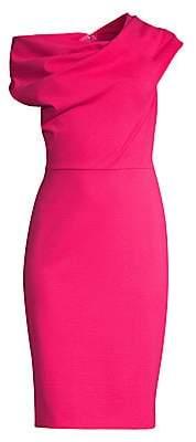 Escada Women's Diarina Asymmetric Off-The-Shoulder Dress