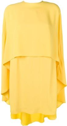 Sara Battaglia cape dress