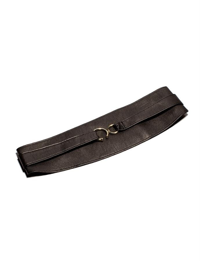 The Limited Metal Hook Wrap Obi Belt
