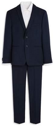 Michael Kors Boys' Plaid Suit Jacket & Pants Set - Big Kid