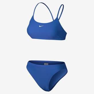 Nike Nylon Core Solid Women's Two-Piece Swimsuit