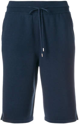 Loro Piana high waisted track shorts