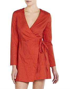 Nude Lucy Medina Wrap Dress