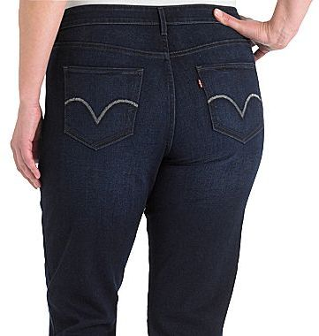 Levi's Levi's® 512TM Perfectly Shaping Straight Jeans - Plus