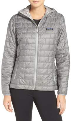 Patagonia Nano Puff(R) Hooded Water Resistant Jacket
