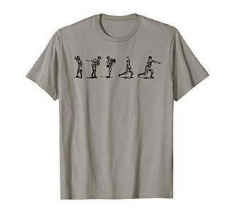 Vintage Baseball Pitching T-Shirt-Pitcher Mechanics Tshirt