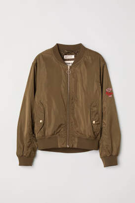 H&M Bomber Jacket - Green