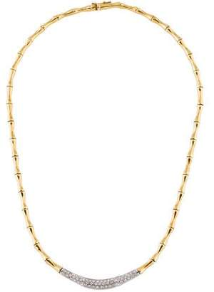H.Stern 18K Diamond Collar Necklace
