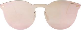 Illesteva Leonard II Rose Mask Sunglasses $190 thestylecure.com
