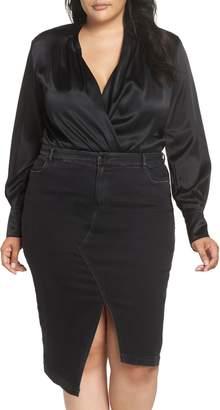 Marina Rinaldi ASHLEY GRAHAM X Bambola Bloused Bodysuit