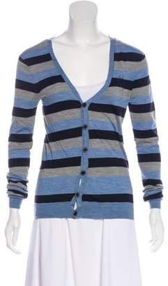 AllSaints Long Sleeve Wool Cardigan