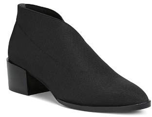 Donald J Pliner Women's Daved Almond Toe Elastic Ankle Booties