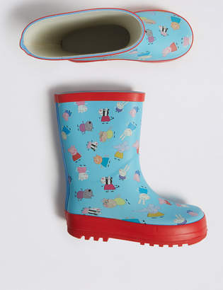 d575210936c7 Marks and Spencer Kids Peppa Pig Wellies (5 Small - 12 Small)