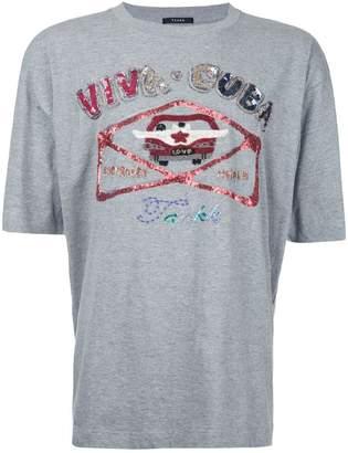 Taakk sequinned T-shirt