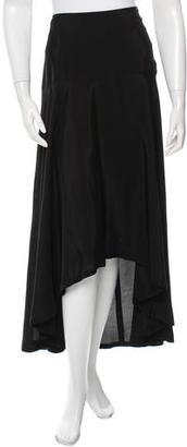 Yohji Yamamoto High-Low Midi Skirt $85 thestylecure.com